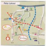 Peta lokasi Nuansa Asri Cinangka